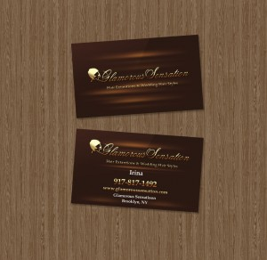 Business Card Sample - Hair Stylist