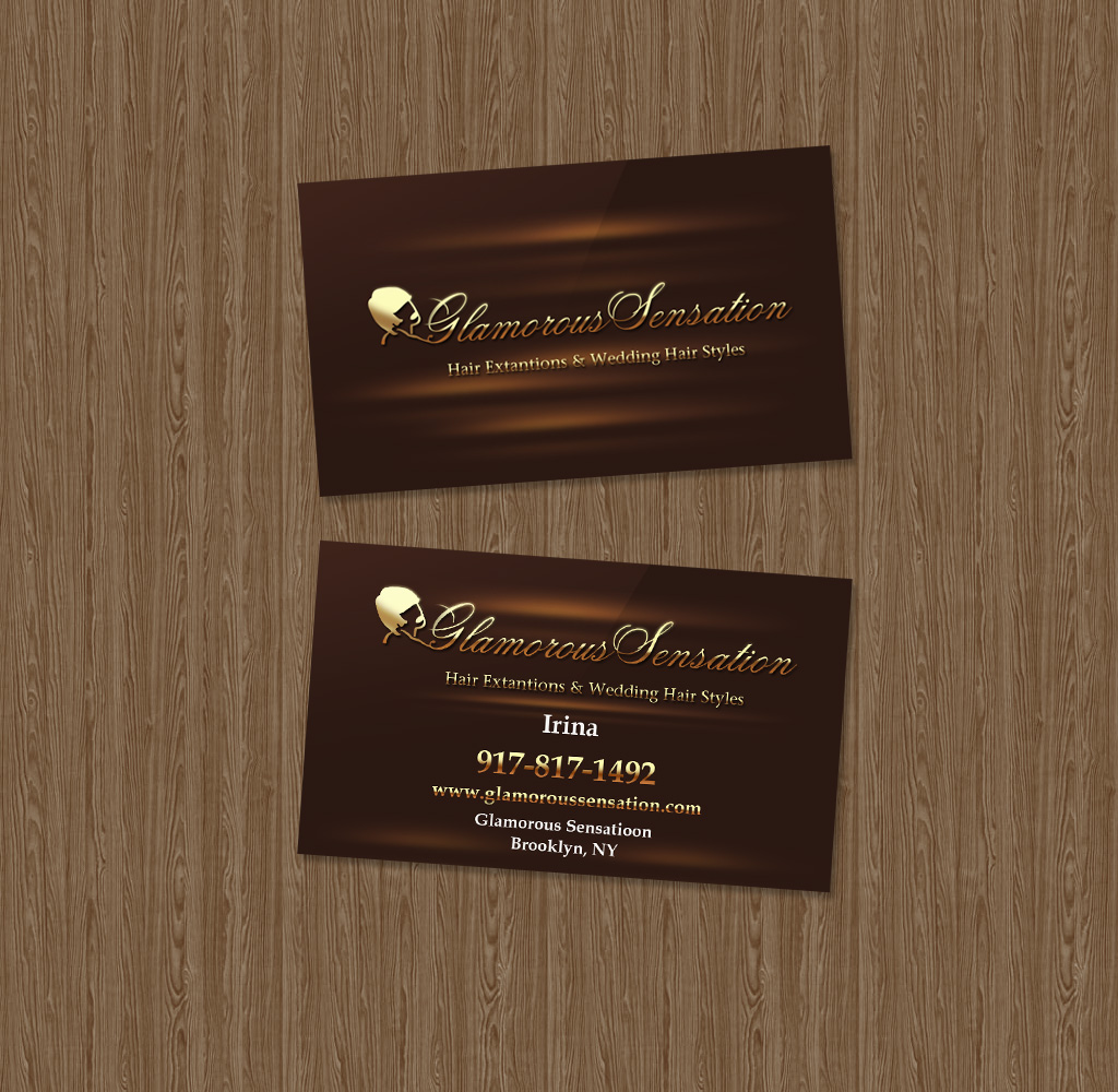 Business Card Sample - Hair
