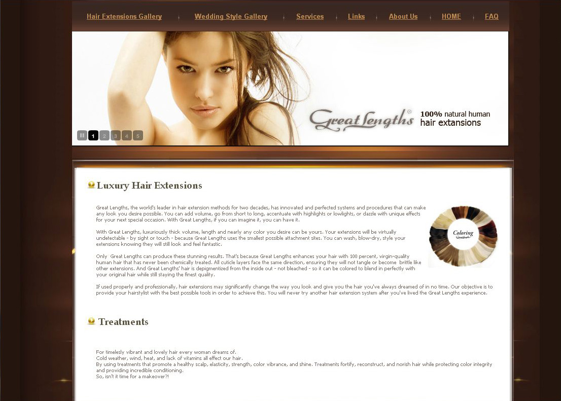 Products and Services web design brooklyn