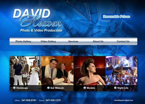 Photo Studio Website (Queens)