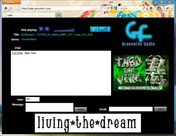 Live Streaming Audio Video Player and Chat - Radio Station