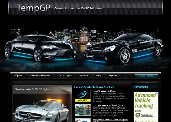 Custom Luxury Cars Website Design