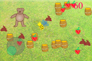 iPhone Children Walking Game