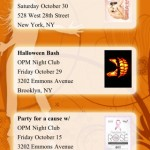 iPhone Web Site Events Listing App