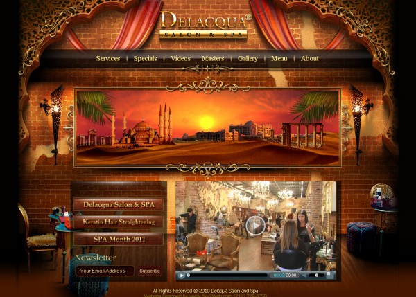 Hair Salon Website - New York / Florida