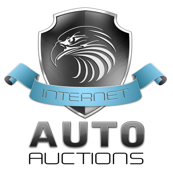 Internet Auto Auction Vector Logo Design Service