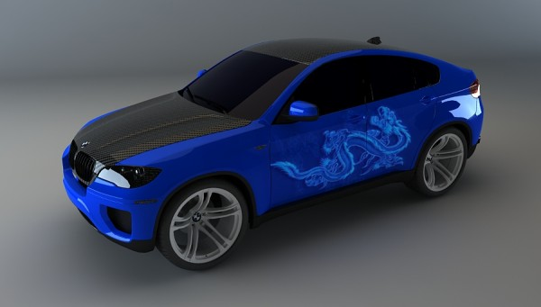 3D Car Virtual Tuning and Model Design Service | STUDIO SKY7