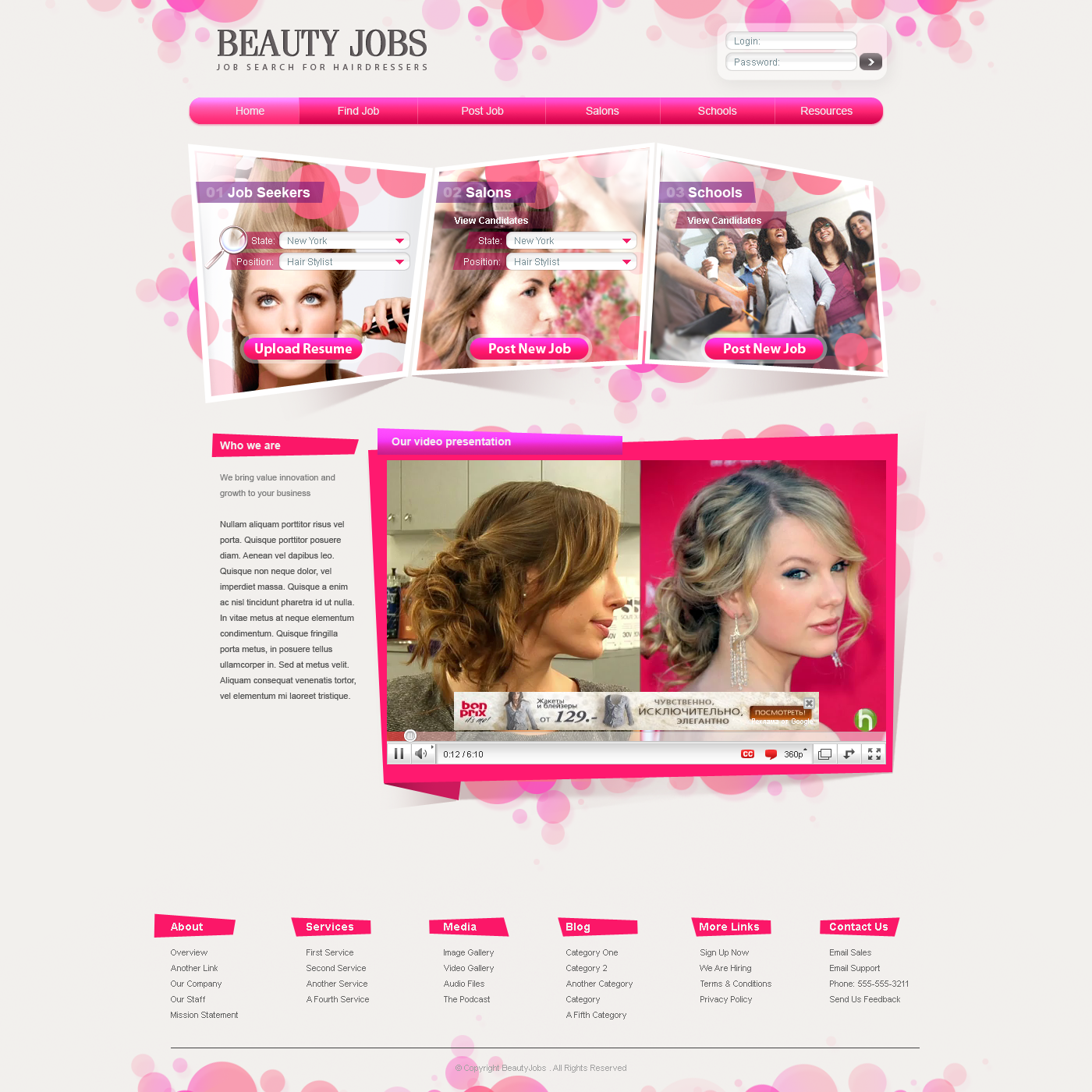 beauty and salon job search design studio sky brooklyn nyc brooklyn best beauty salon web design services